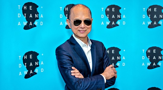 FASHION DESIGNER JIMMY CHOO OBE ANNOUNCED AS AMBASSADOR FOR THE DIANA AWARD