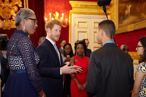 Tessy Ojo Duke of Sussex Diana Award