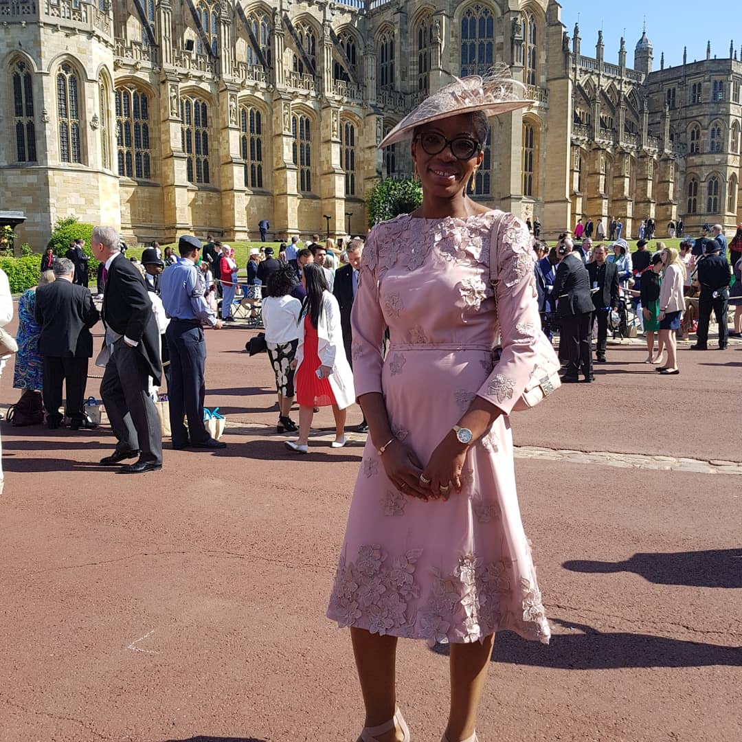 Tessy Ojo Diana Award CEO at Royal Wedding