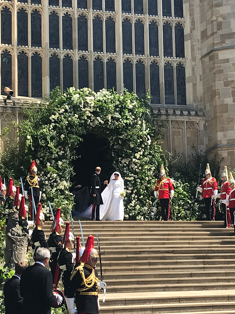 TRHs Duke Duchess Sussex Royal Wedding