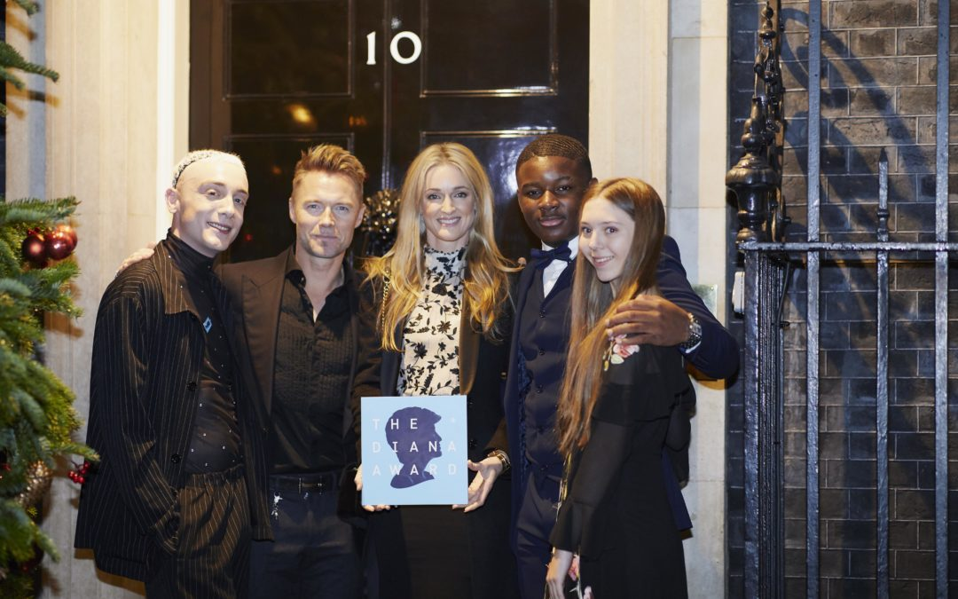 Celebrities, business leaders and VIP's attend Downing Street event to celebrate 19TH anniversary of The Diana Award