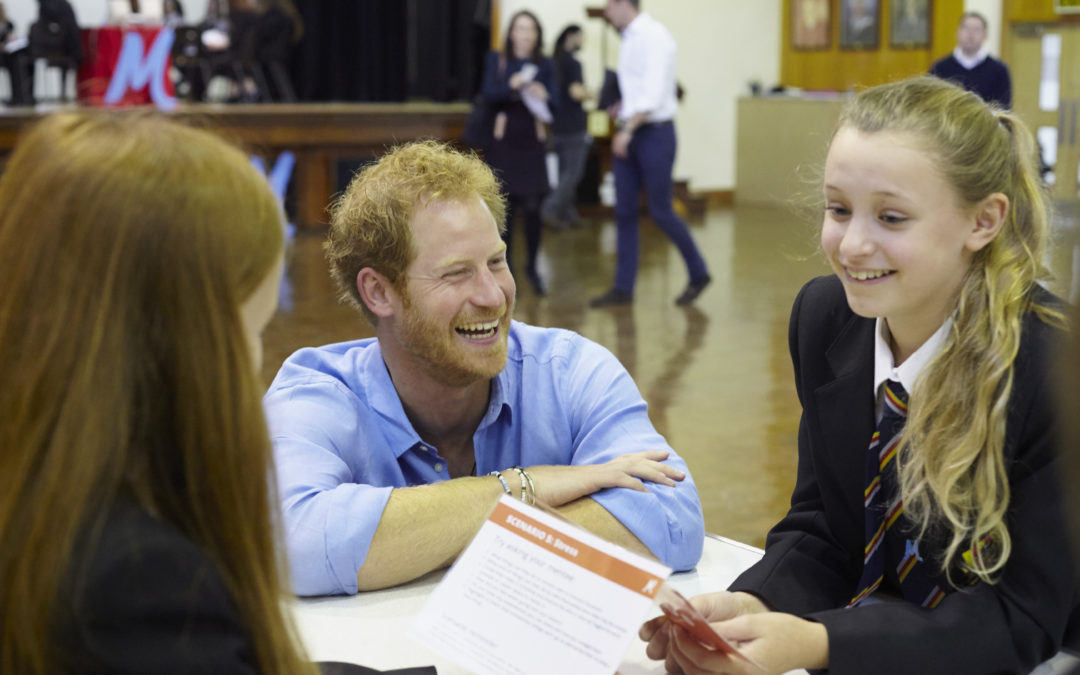 The Diana Award announces that HRH The Duke of Sussex will attend the National Youth Mentoring Summit