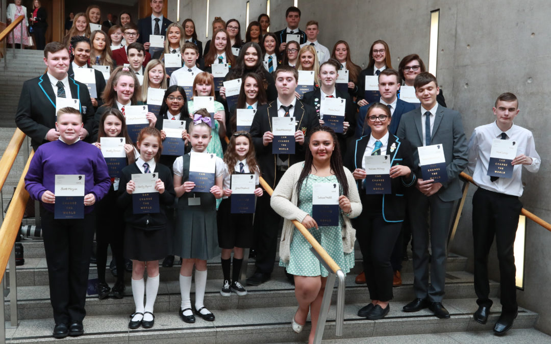 Outstanding young heroes in Scotland receive award  in memory of Princess Diana