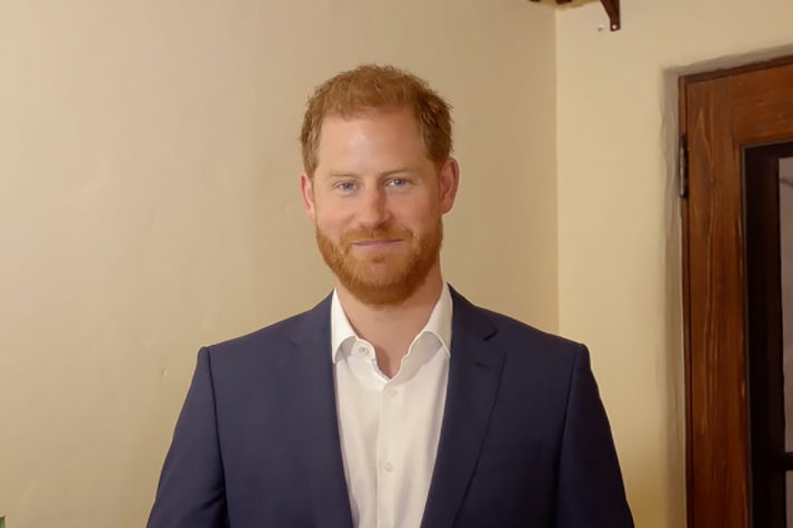 The Duke of Sussex pays tribute to young changemakers from across the world at virtual ceremony marking Princess Diana's 60th Birthday